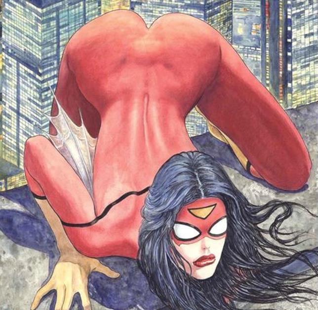 La copertina variant di Milo Manara