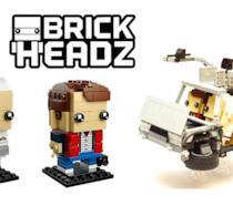 LEGO Brickheadz: due set ufficiali dedicati a Marty e Doc e uno non ufficiale sulla DeLorean