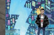 Artwork della graphic novel di Detective Pikachu