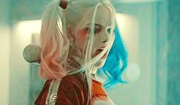 Harley Quinn sbuffa