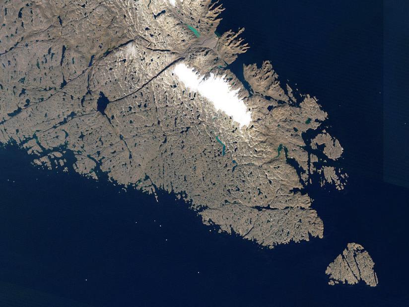 Uno scorcio dell'Isola di Baffin