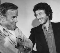 Franco Zeffirelli con Robert Powell