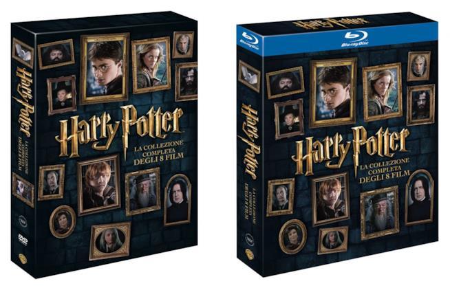Il cofanetto da collezione dei film di Harry Potter (nuova edizione 2016)