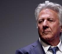 Un primo piano di Dustin Hoffman ritratto a un evento ufficiale
