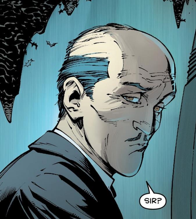 Alfred nei fumetti di Batman