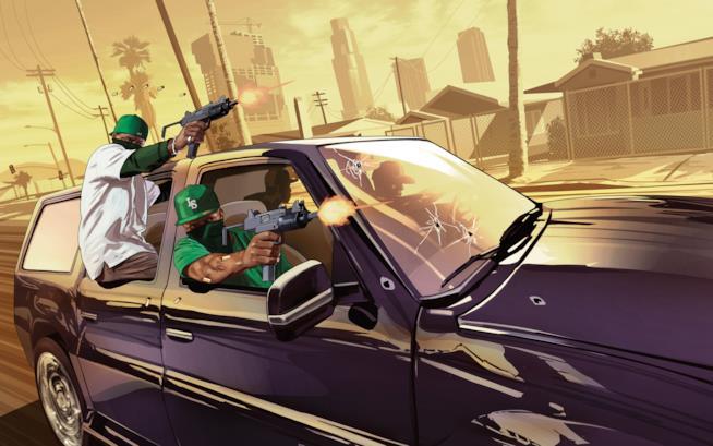 Crimine e velocità in GTA Online