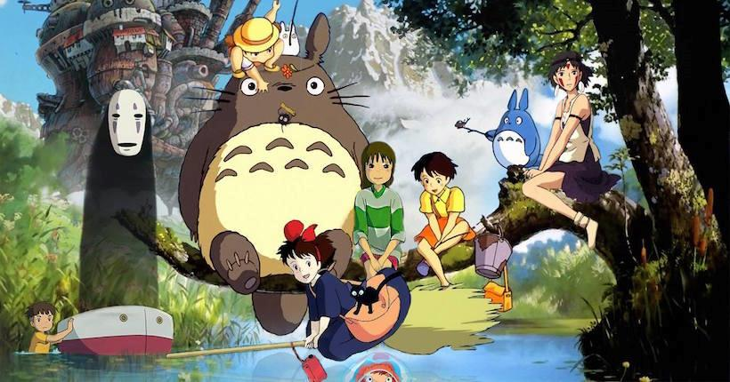 Studio Ghibli personaggi vari