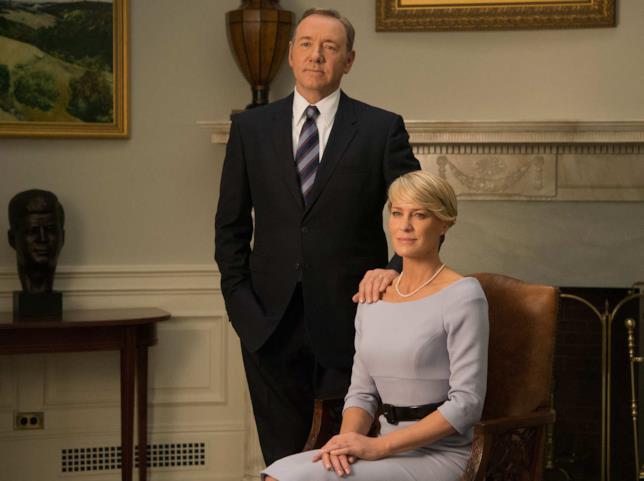House of cards: ecco il Presidente degli Stati Uniti d'America e la moglie