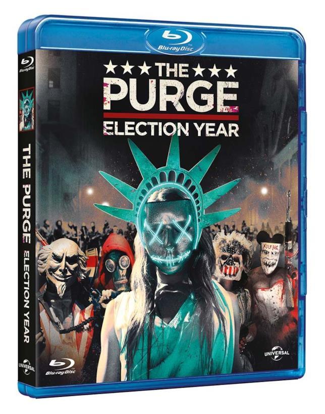 L'edizione Blu-Ray de La notte del giudizio: Election Year