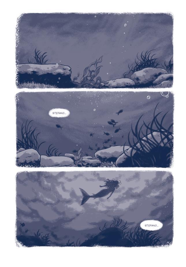 Stefano sogna le sue sirene