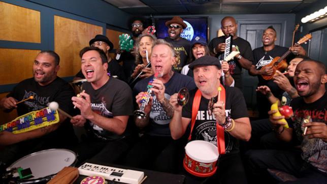 Metallica al The Tonight Show con Jimmy Fallon