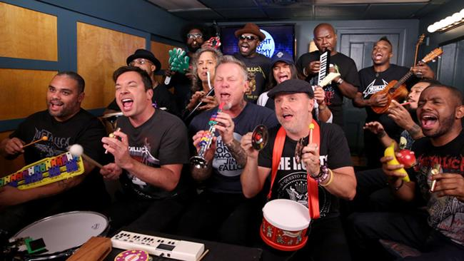 Metallica al The Tonight Show con Jimmy Fallon