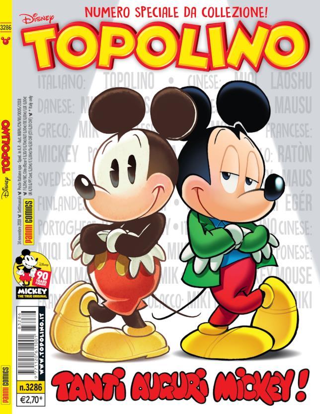 La copertina di Topolino 3286