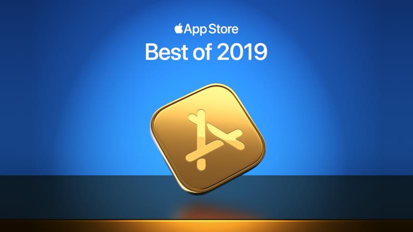 Immagine stampa per il Best of 2019 su App Store