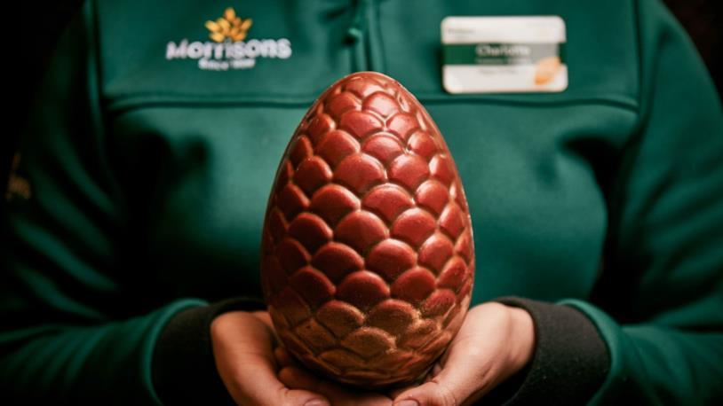 L'uovo di drago al cioccolato della Pasqua 2018
