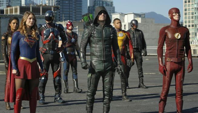 Supergirl, Arrow, The Flash e Legends of Tomorrow in una sola foto