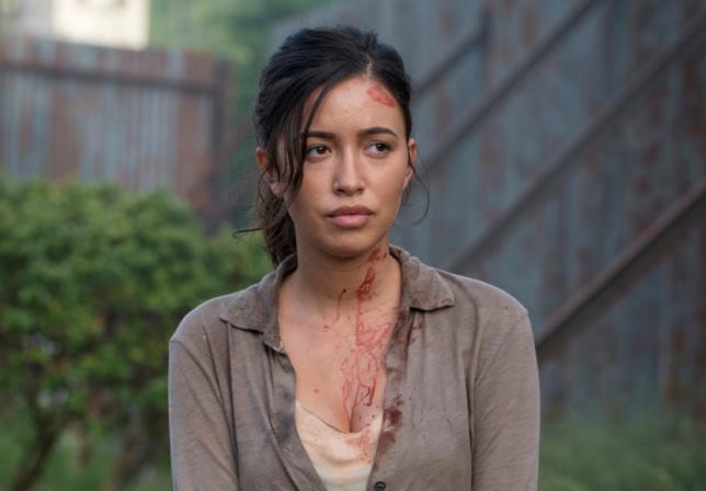 Rosita in The Walking Dead