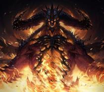 Un concept art della serie Diablo