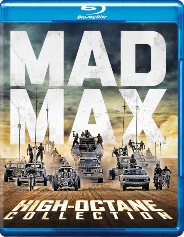 Copertina della Mad Max High Octane Edition