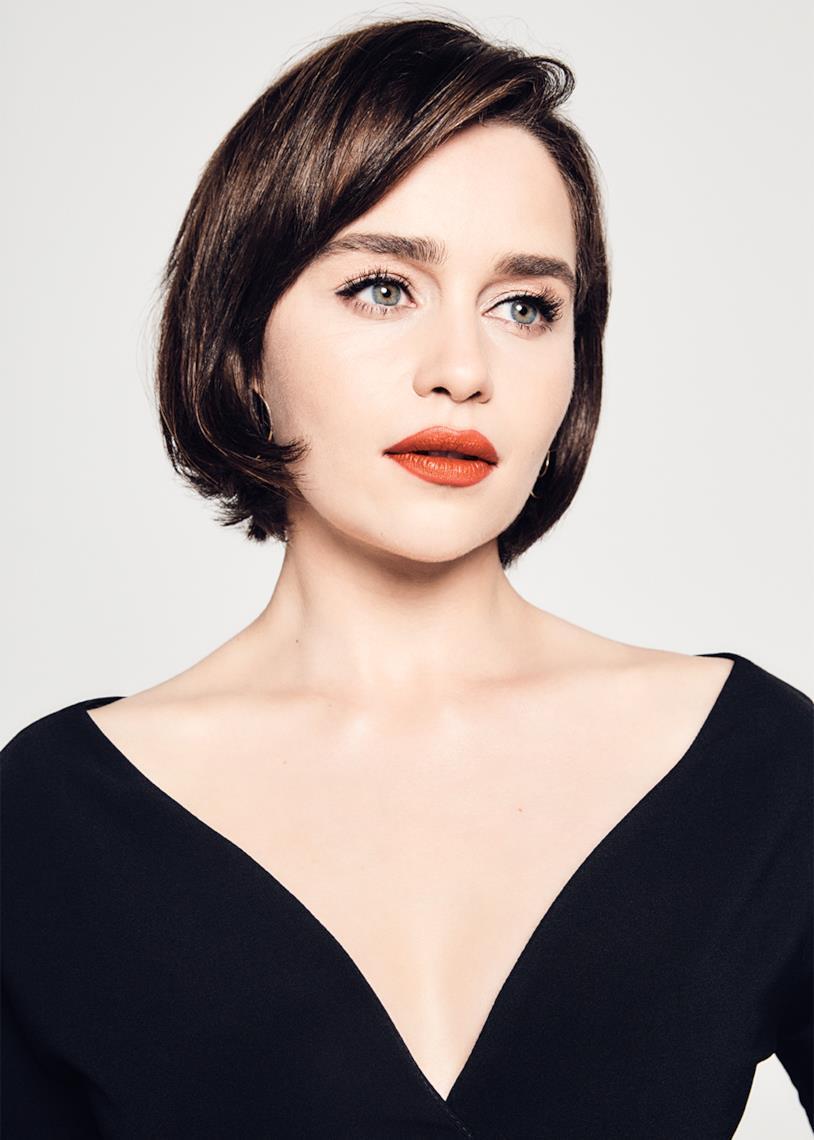 Emilia Clarke in un primo piano per Variety