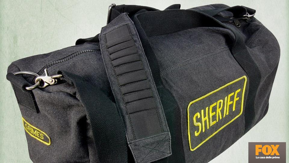 Il borsone da sceriffo di Rick, 59.99€.
