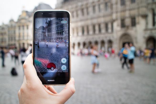 Schermata di Pokemon Go