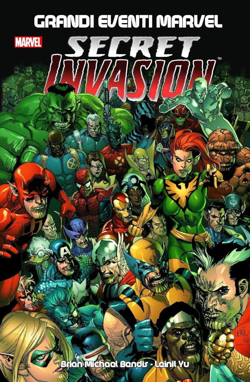 La cover del fumetto Secret Invasion