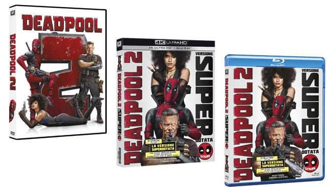 Deadpool 2 Home Video