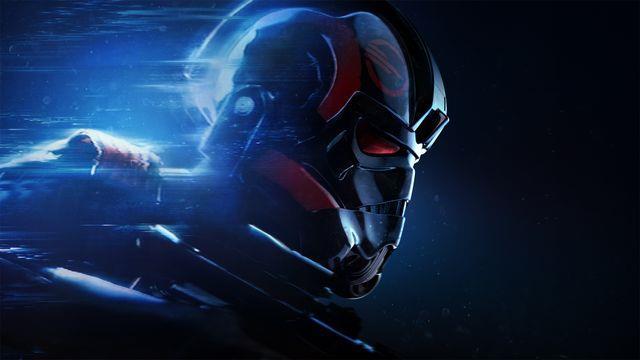 Primo piano per un Elite Trooper di Star Wars Battlefront 2