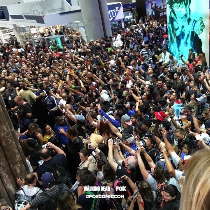 L'installazione di The Walking Dead al San Diego Comic-Con 2017