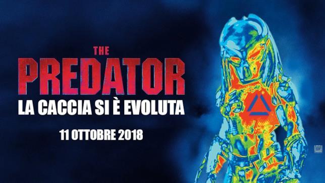 Il poster italiano di The Predator