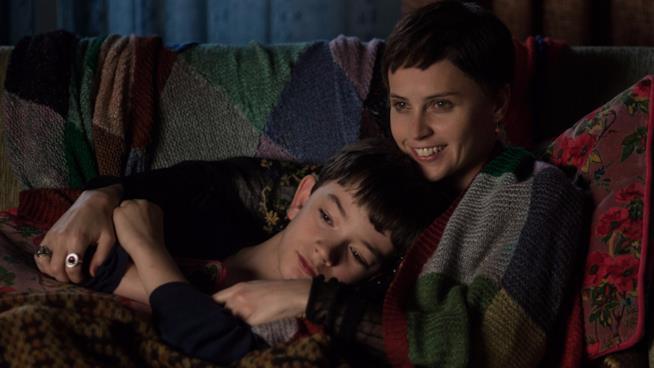 Conor e la madre in Sette MInuti dopo la Mezzanotte