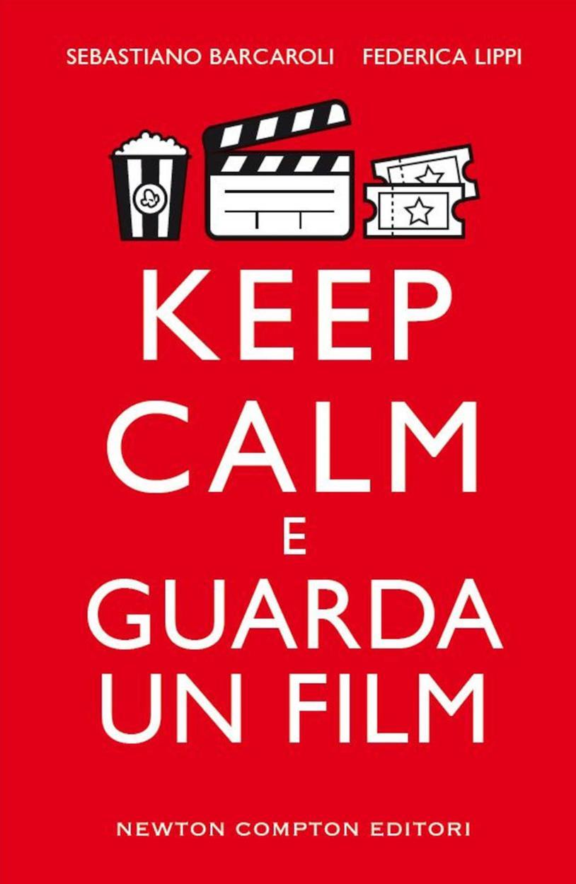 Copertina rossa di Keep Calm e guarda un film