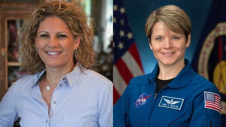 Le due donne coinvolte nel primo reato spaziale