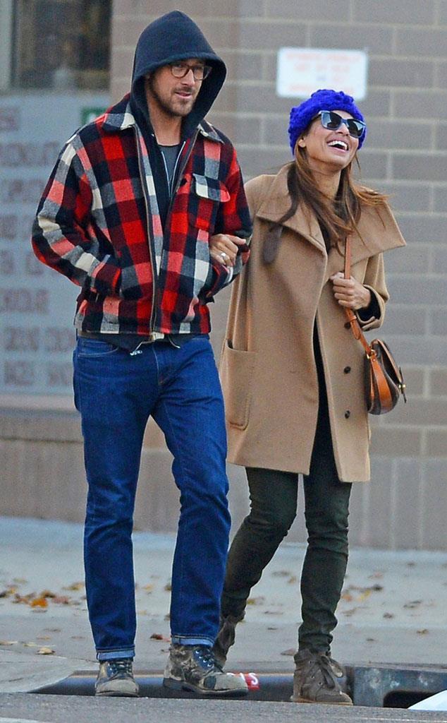 Complicità e sorrisi per Ryan Gosling e Eva Mendes