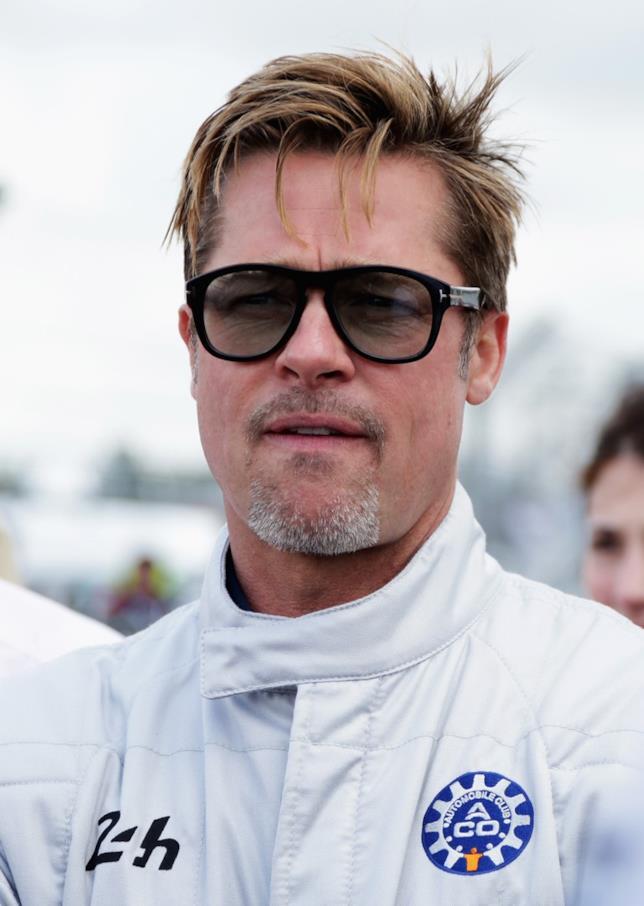 Brad Pitt in versione pilota