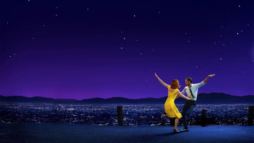 Una scena di La La Land