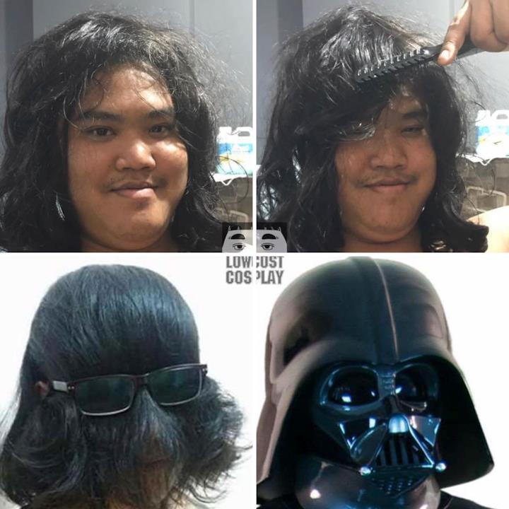 Low cost Cosplay: Darth Vader