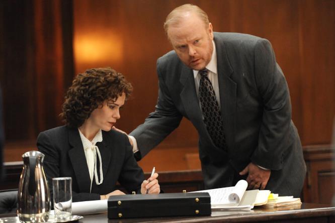 il procuratore Marcia Cross nel caso O.J.Simpson in American Crime Story