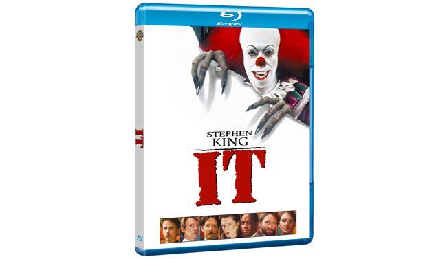 Packshot del Blu-ray della mini-serie IT
