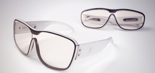 Un concept degli Apple Glass realizzato da Martin Hajek