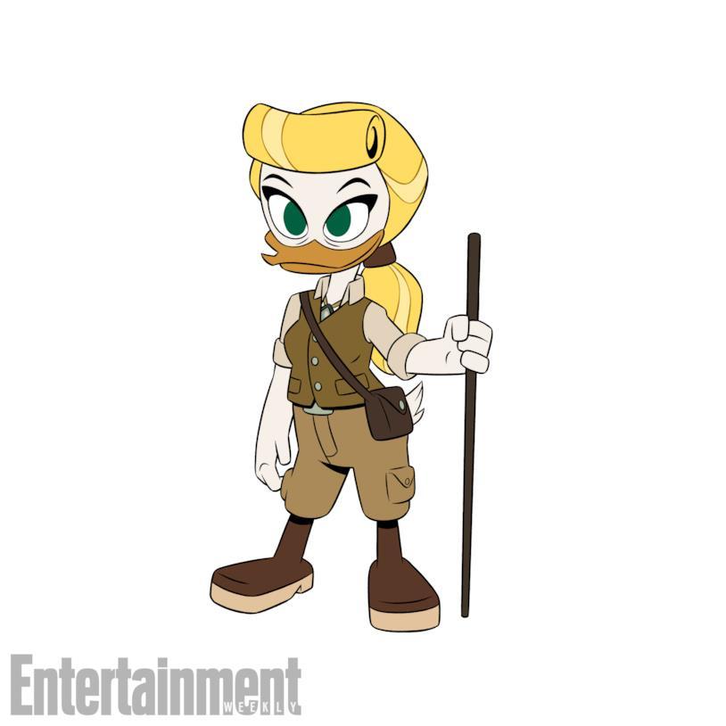 Doretta Doremì nelle immagini del reboot di DuckTales
