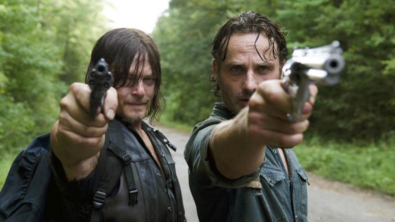 The Walking Dead: Daryl con Rick
