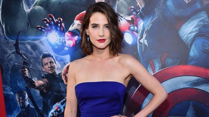 Cobie Smulders sul red carpet alla prima di Avengers: Age of Ultron