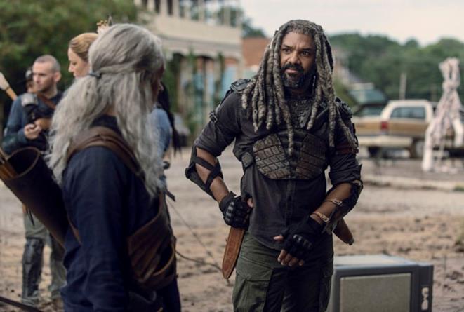 The Walking Dead 9x11: Carol ed Ezekiel