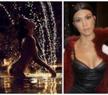 Lo scatto hot condiviso su Instagram da Kourtney Kardashian