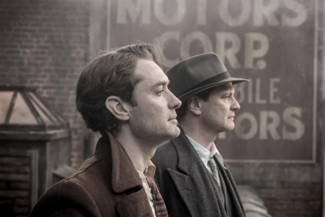 Jude Law e Colin Firth