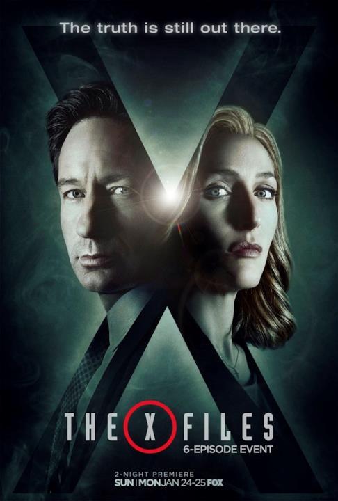 Poster promozionale del revival di X-Files 3