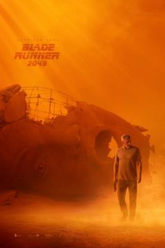 Il poster ufficiale di Blade Runner 2049 con Harrison Ford