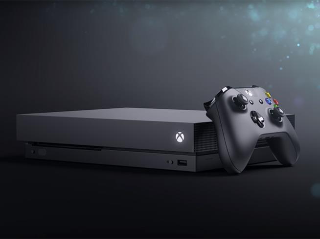 Xbox One X, la console potenziata di Microsoft